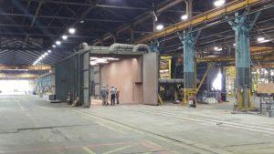 Wheelabrator Air Blast Room Complete