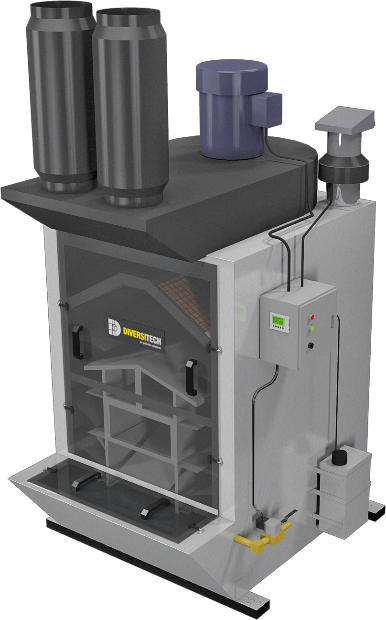Inline Dust Collector : Blast rooms wash systems