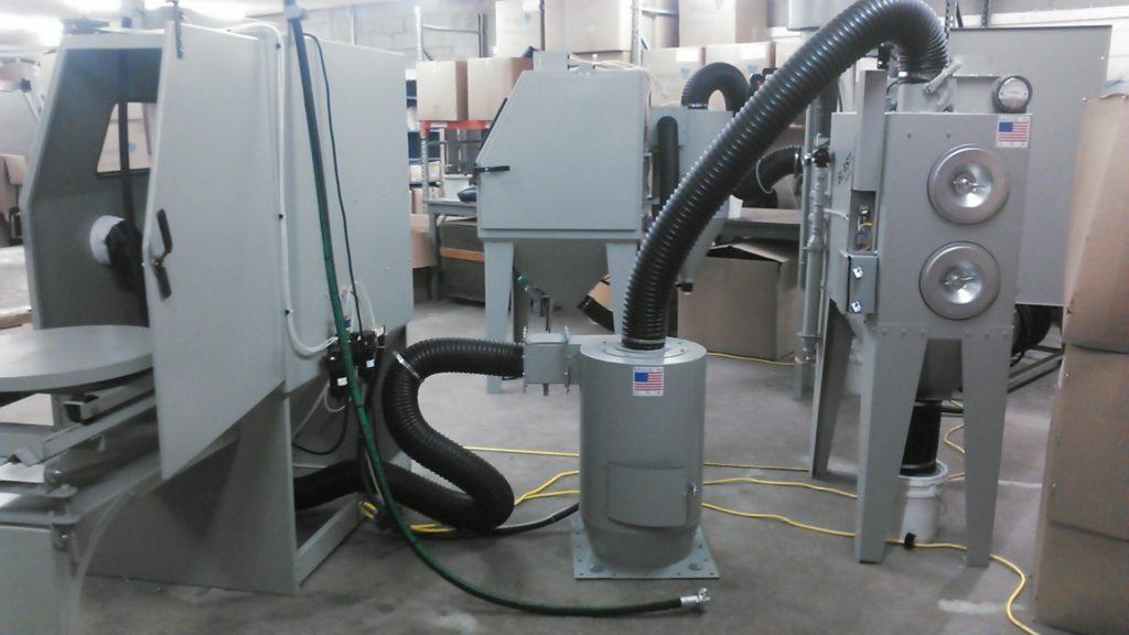 Blast Cabinet 4836 & Blast-It-All - Blast u0026 Wash Systems