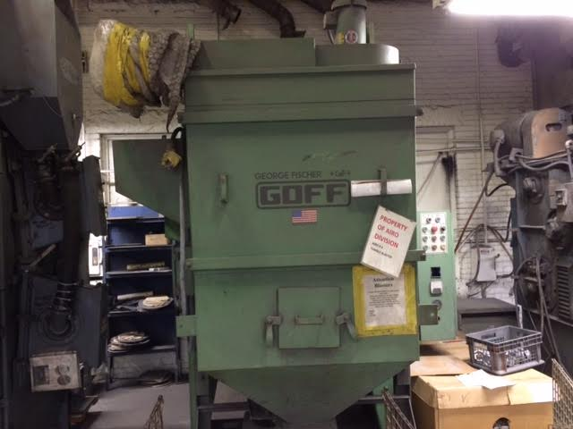Goff 6 Cube Tumble Blaster with Dust Collector