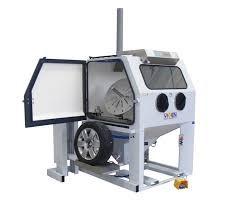 Wheel Wet Blast System 1