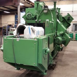 Goff Wire Mesh Belt Blaster w/ Dust Collector