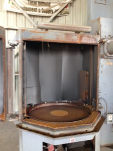 "Wheelabrator With Dust Collector 48"" Table"