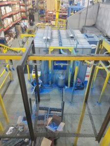 Inline Powder Coating and Curing Line