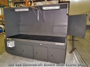 Downdraft Table