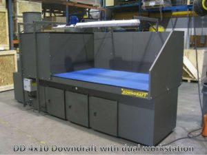 Downdraft Table